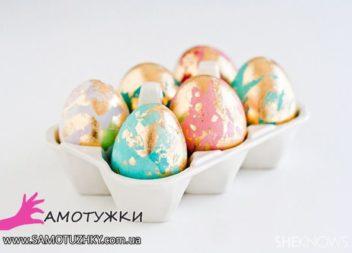 Decorazione delle uova per Pasqua: 30 idee semplici per tutti