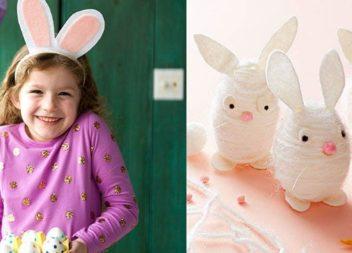 Regali pasquali per bambini realizzati con materiali a portata di mano. 35 idee