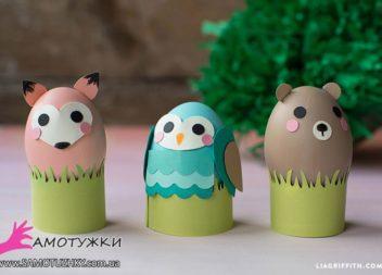 Idee di Pasqua per i bambini: animaletti di uova