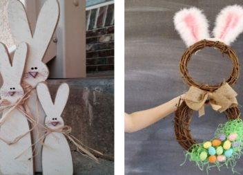 Coniglio pasquale fai da te. 33 idee