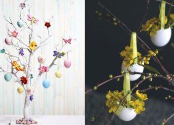 Decorazione dell'albero di Pasqua.15 idee e una master class meravigliosa