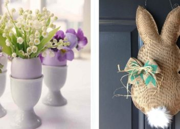 50 modi su decorazione di casa e del cortile per la Pasqua