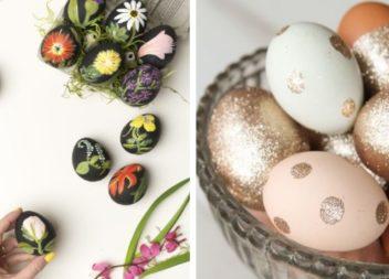 Idee su dipinto e decorazione delle uova di Pasqua. 55 nuove idee!